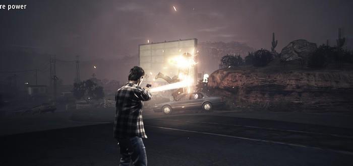 12 минут геймплея из прототипа Alan Wake 2