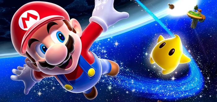 Новое видео Super Mario Galaxy на Unreal Engine 4