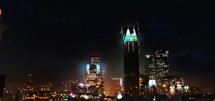 Ночной Лос-Сантос прекрасен после дождя
