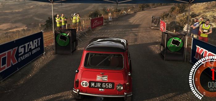 DiRT Rally с ультра-графикой в 1080p@60fps