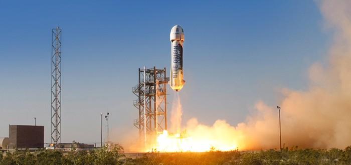 Прошел успешный запуск частной суборбитальной ракеты Blue Origin