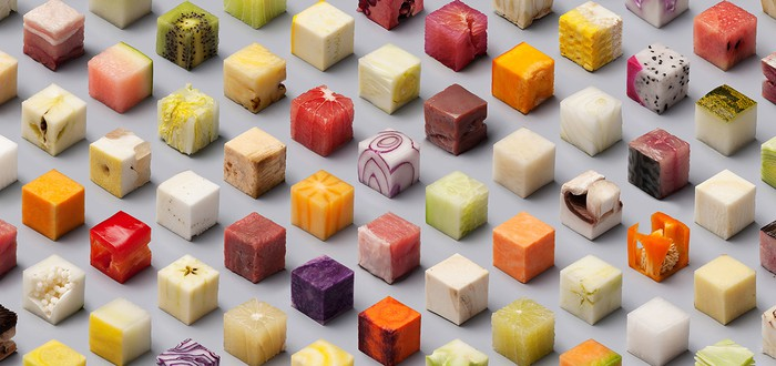 Кубическая еда