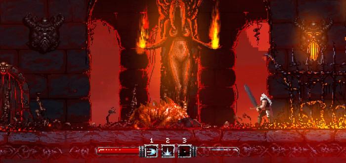 Скриншоты пиксельной RPG Slain