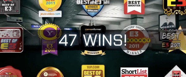 Мультиплеерный трейлер Battlefield 3 – награды