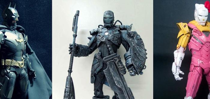 Эпичная кастомизацая костюмов Железного Человека