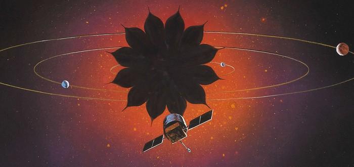 """Как космическая """"бленда"""" для телескопа позволит изучать экзопланеты"""