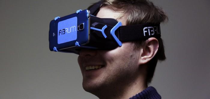 Очередной шлем виртуальной реальности Fibrum PRO