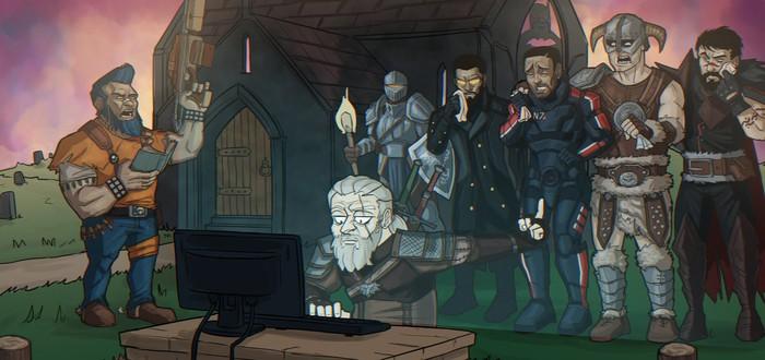Геймер создал Универсальную Кнопку Паузы – работает даже в кат-сценах The Witcher 3