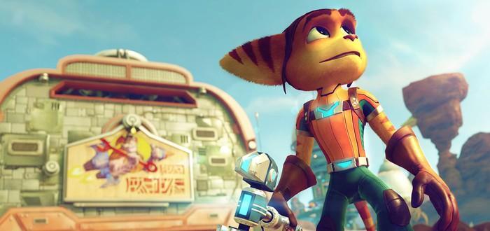 Первый трейлер и скриншоты Ratchet & Clank на PS4
