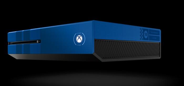 Motorsport анонсировала Xbox One на 1TB