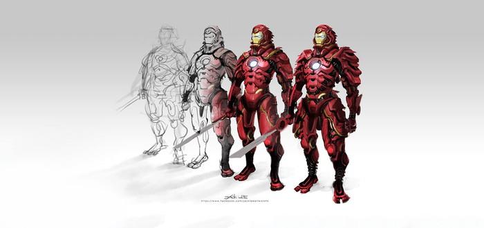 Time Lapse: Железный Человек-Самурай