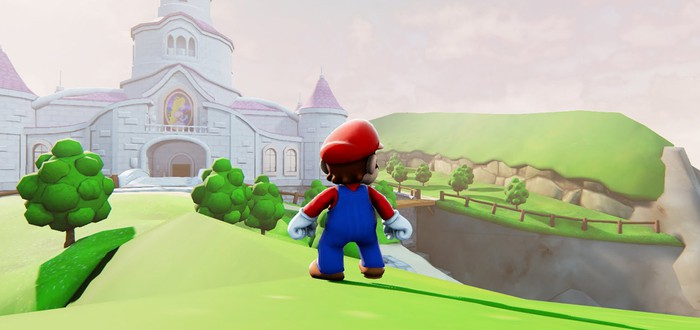 Mario в техно-демках Unreal Engine 4