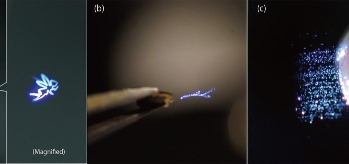 Вы можете потрогать эти плазменные голограммы