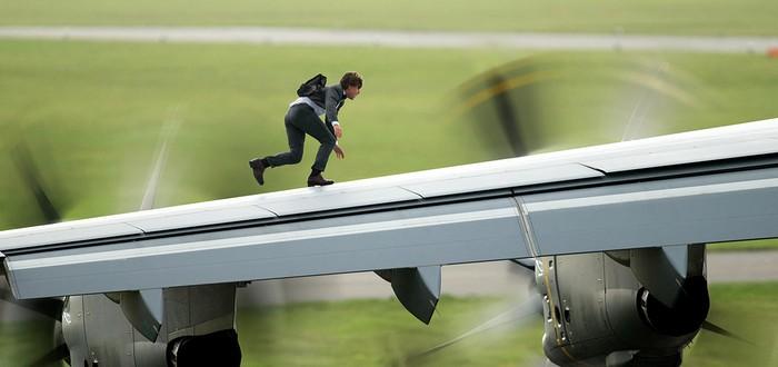 Сцена с самолетом в Mission Impossible 5 была вдохновлена Uncharted 3