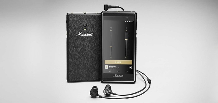 Marshall выпускает смартфон для аудиофилов