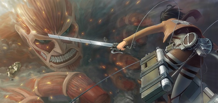 Трейлер лайв-экшен фильма Attack on Titan с английскими субтитрами