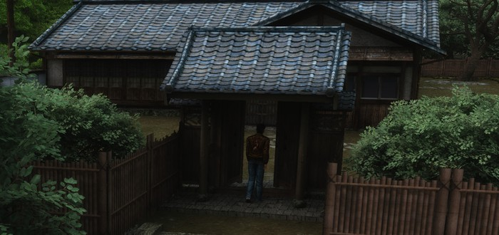 Дом семьи Хадзуки из Shenmue в Unreal Engine 4