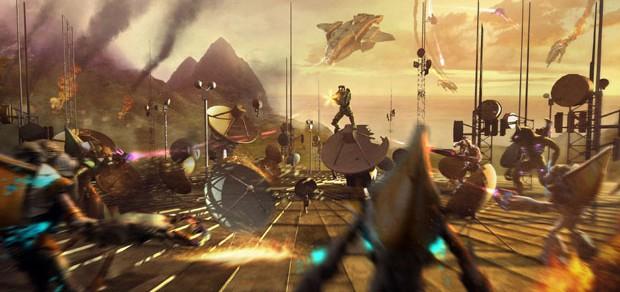 Первое видео Halo: Reach