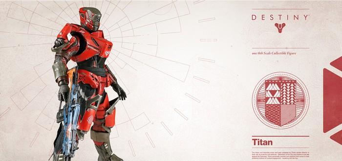 Детализированная фигурка Титана из Destiny за $190
