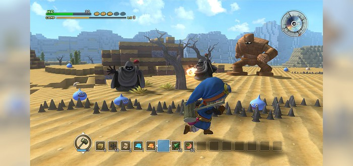 Dragon Quest Builders – клон Minecraft по серии Dragon Quest