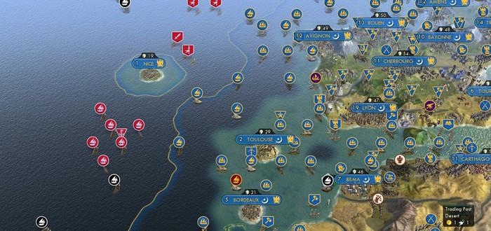 60 Цивилизаций в мега-битве Civilization 5