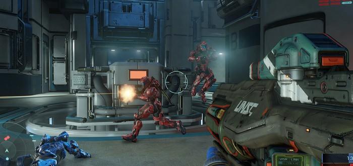 Геймплейное видео Halo 5 на карте Fathom