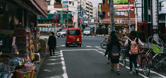 Современная Япония в виде пиксельных GIF