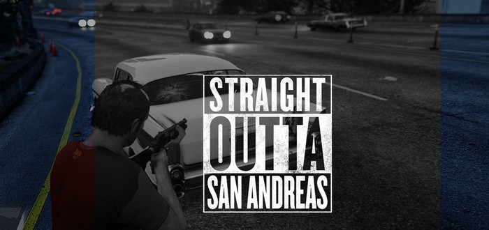 Клип Straight Outta Compton воссоздан в GTA 5