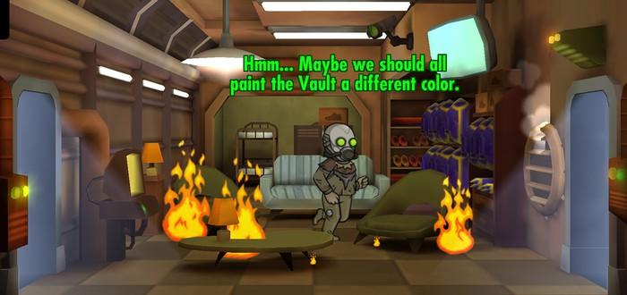 Bethesda рекламирует Fallout Shelter в Tinder