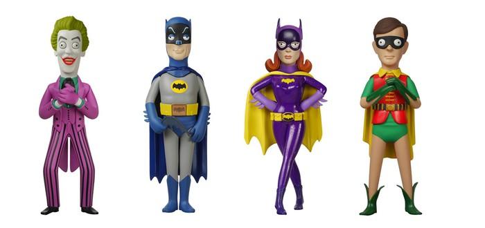 Забавные фигурки персонажей классического Бэтмена 60-х