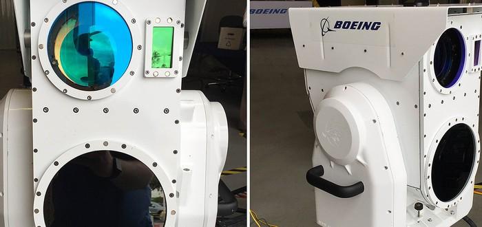 Boeing показала портативный лазер для уничтожения дронов