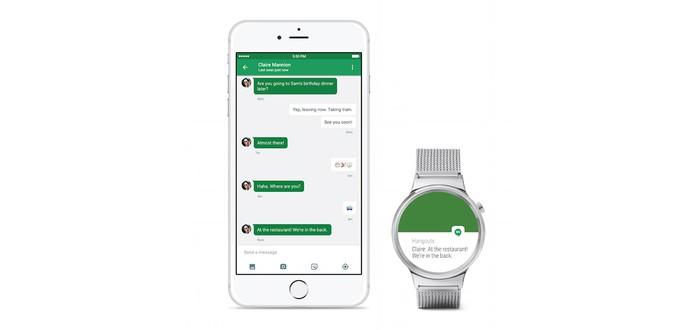 Android Wear работает с iPhone