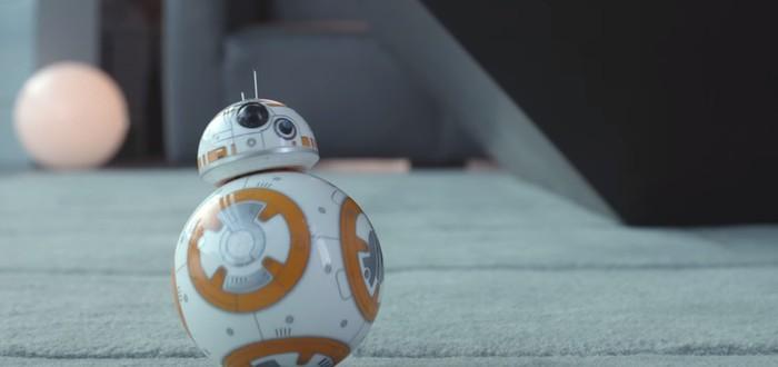 Игрушечный дроид BB-8 из The Force Awakens, управляемый с помощью приложения