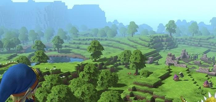 18 минут геймплея Dragon Quest Builders