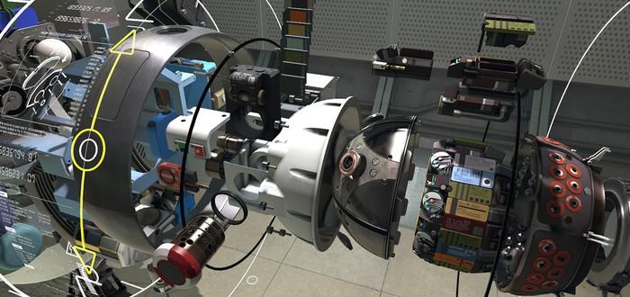 VR-Демо Aperture Labortories в хорошем качестве