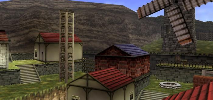 Деревня Какарико из Legend of Zeldа воссоздана в Unreal Engine 4