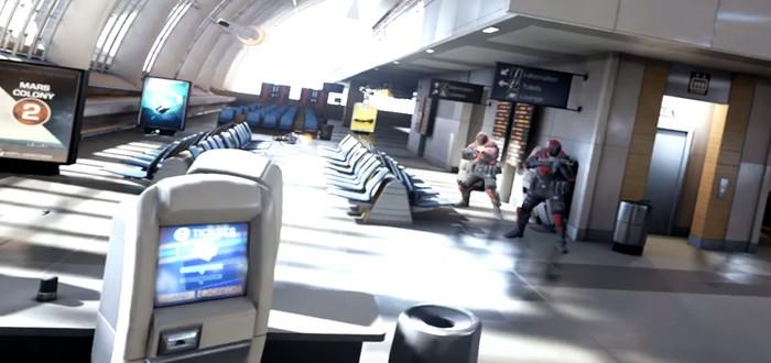 Bullet Train – VR-демо от Epic и Oculus