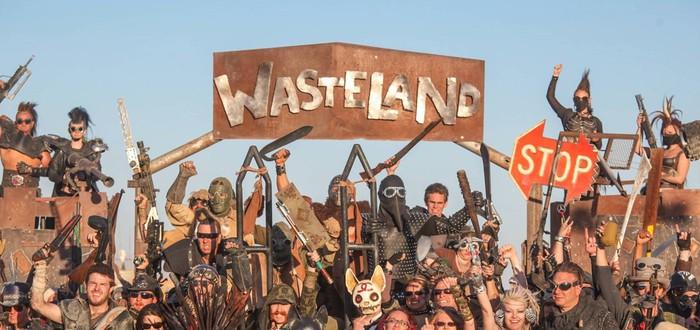 Wasteland Weekend в пустыне Мохаве