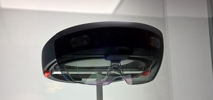 Дев-кит HoloLens стоит $3000, выходит в начале 2016-го