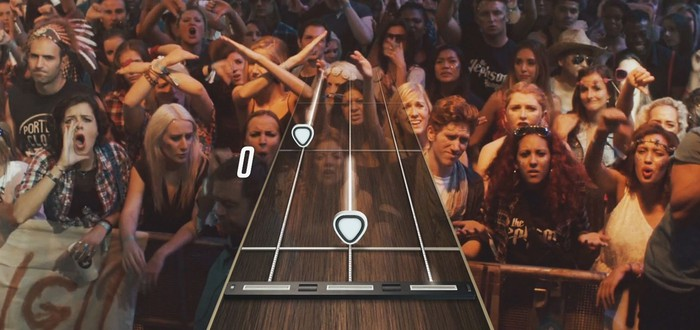 Ленни Кравиц в трейлере Guitar Hero Live