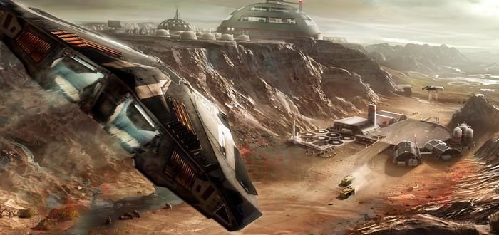 Планетарная техника в новом видео Elite: Dangerous
