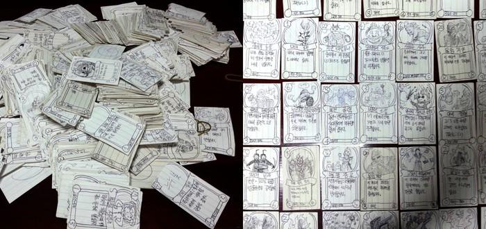 Корейские солдаты нашли способ играть в Hearthstone во время службы — нарисовать свои карты