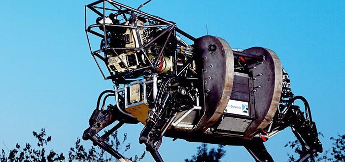 DARPA сделала робота-кота