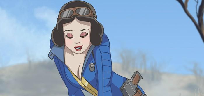 Ждем релиз Fallout 4 в компании Диснеевских Принцесс