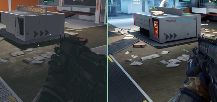 Сравнение Call of Duty: Black Ops 3 на Xbox 360 и Xbox One