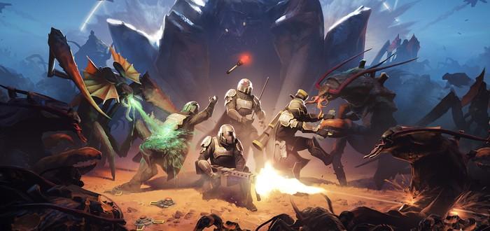 PS-шутер Helldivers выходит в Steam