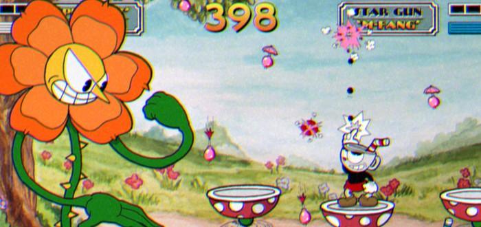 11 минут геймплея Cuphead