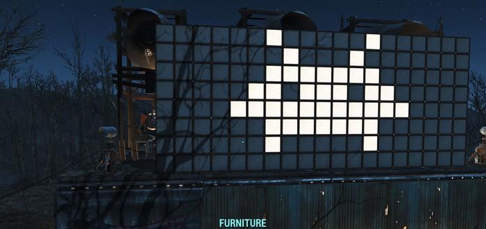 Гайд Fallout 4: Как сделать анимированное световое табло