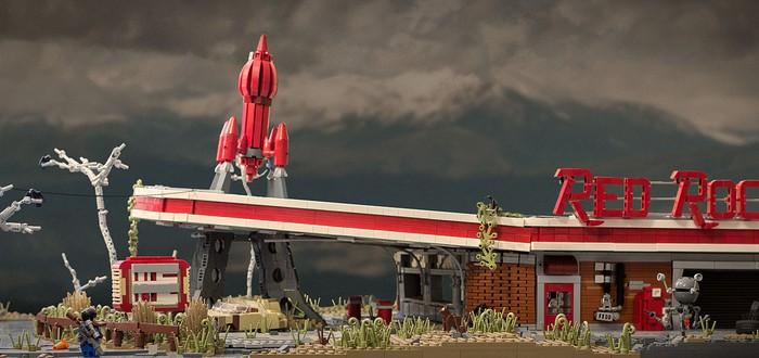 Красная Ракета Fallout 4 создана из LEGO