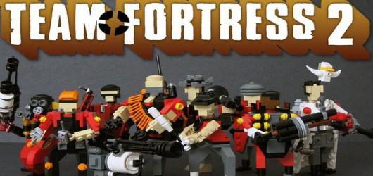 Team Fortress 2: Фигурки Lego